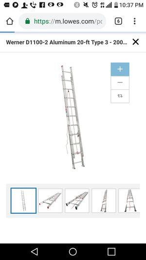 20 foot extension ladder for Sale in South Salt Lake, UT