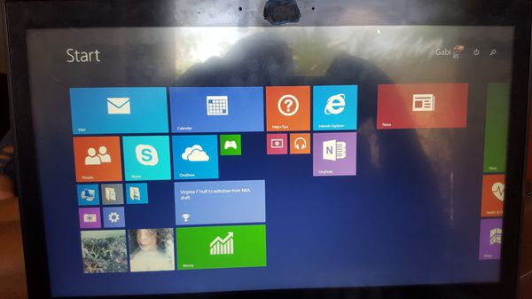 Notebook fast T570 touch screen