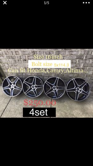 16inch wheels rims for Sale in Silver Spring, MD