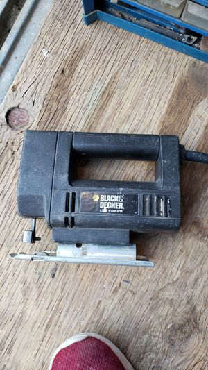 Black and Decker jig saw for Sale in Avondale, AZ