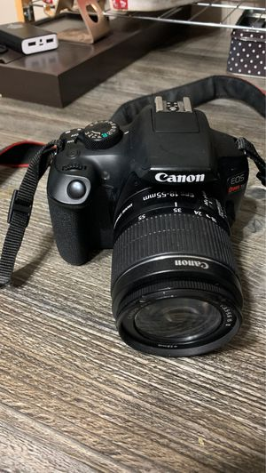 Canon t6 rebel for Sale in Kissimmee, FL