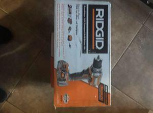 RIDGID 18V drill driver kit for Sale in Sacramento, CA