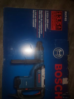 Bosch sds max combination hammer for Sale in Auburn, WA