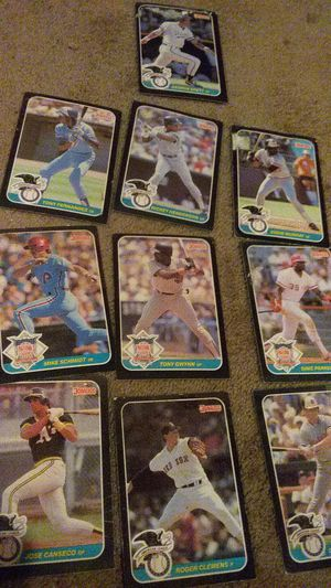 1984-1986 DONRUSS Baseball cards for Sale in Everett, WA