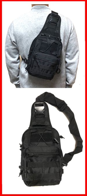 NEW! Tactical Military Style Sling Side Crossbody Bag gym bag work bag travel backpack luggage school bag molle camping hiking biking for Sale in Long Beach, CA