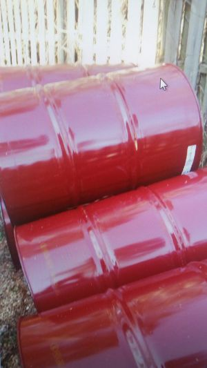55 gal metal drums for Sale in Lawrenceville, GA