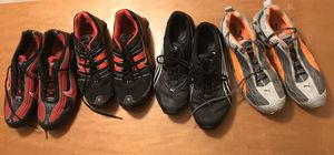 Lot of 4 pairs of sneakers size 12 Puma And Nike for Sale in Nashville, TN