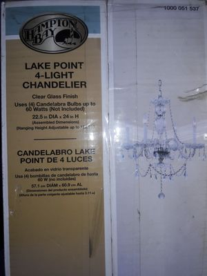 Hampton bay chandelier for Sale in Riverside, CA