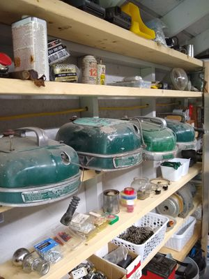4 vintage boat motor tops for Sale in Darlington, PA