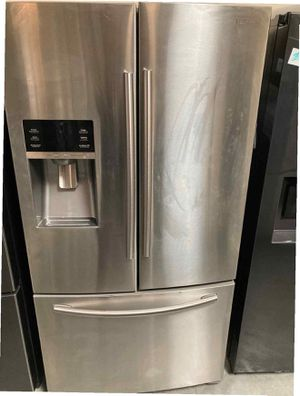 Samsung Fridge 27 cu. ft. French Door Refrigerator Same day or next day delivery available for Sale in Whittier, CA