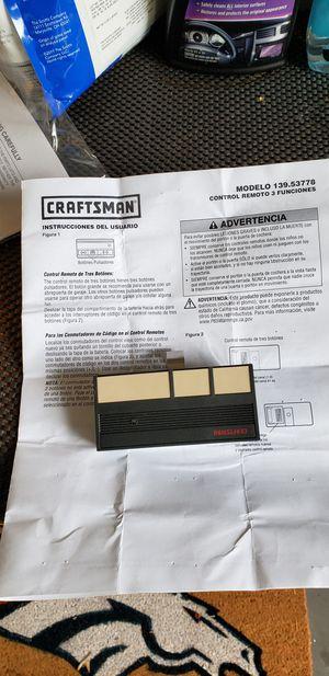 Craftsman Garage Door Opener for Sale in Westminster, CO