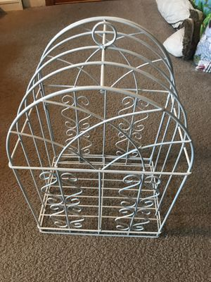 White bird cage for Sale in Sherwood, OR
