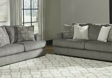 🔥Same Day Delivery 🔥Soletren Ash Living Room Set by Ashley for Sale in Alexandria,  VA