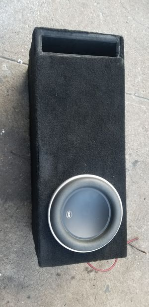 Jl audio 8W7 with ported box for Sale in Brooklyn, NY