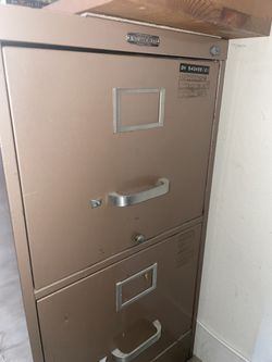 Metal File Cabinet X2 for Sale in Rancho Cucamonga, CA