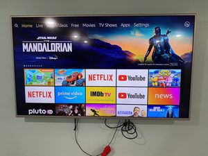 """LG 55"""" inch TV with FireTV for Sale in Natick, MA"""