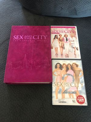 Complete Sex and the City DVD Set - all seasons and movies for Sale in Duarte, CA