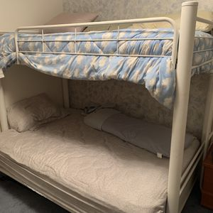 Solid Metal Futon Bunk Bed for Sale in Spanaway, WA