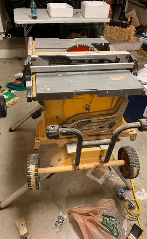 DeWalt table saw for Sale in Lakeside, CA