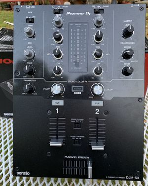 Pioneer DJM-S3 2-Channel Mixer with built in Serato DJ for Sale in Whittier, CA