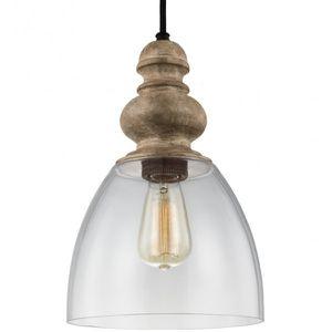 Feiss P1395DFW/DWZ Matrimonio Glass Pendant Lighting, Brown, 1-Light for Sale in Bellflower, CA