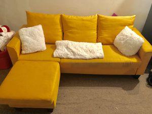 Marigold sofa for Sale in Philadelphia, PA