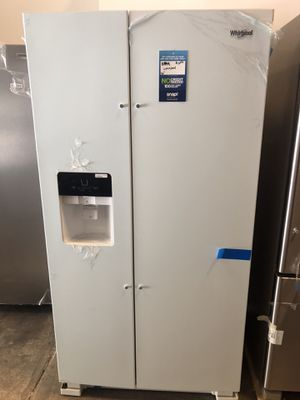 Whirlpool 24.6 cu ft Refrigerator NEW! Take home $40 down EZ financing for Sale in Miami, FL