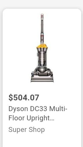Dyson DC33 used vaccume for Sale in West Valley City, UT