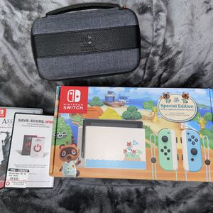Nintendo Switch Bundle Special Edition for Sale in Phoenix, AZ