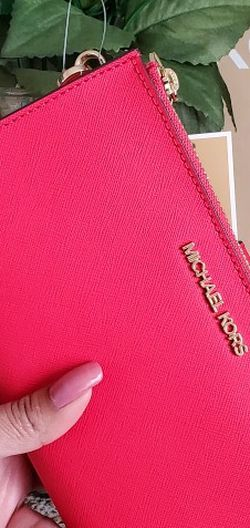 Red Mk double zip wallet for Sale in Temecula,  CA