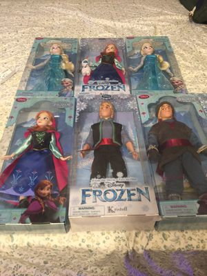 Disney Frozen Doll collection for Sale in Santa Ana, CA