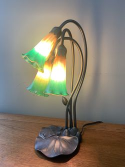 Lily lamp for Sale in Reading,  MA