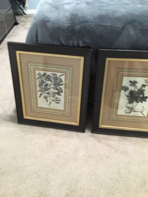"""living room paintings set (2 ) 20 1/2 X 24"""" for Sale in Redwood City, CA"""