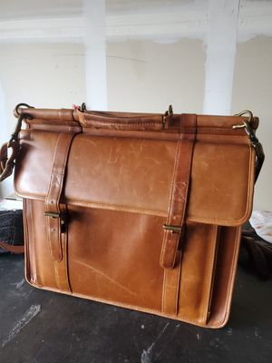 Wilson leather messenger bag for Sale in Austin, TX