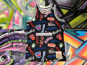 Mitchell & Ness All Over Eastern Swingman Jersey for Sale in Kirby, TX