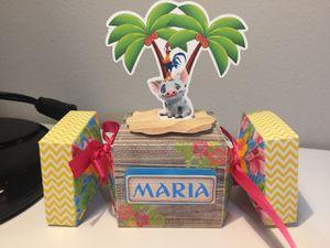 Moana party and Favors - Fiestas y cajas personalizadas for Sale in Orlando, FL