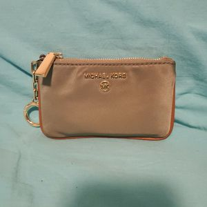 Women's Authentic Michael Kors Wallet Green With Brown. for Sale in Portland, OR