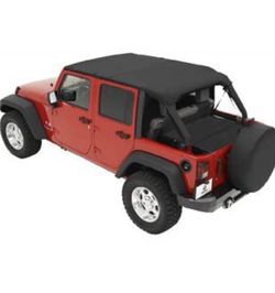 2011 Jeep JK Bikini Top And Duster for Sale in Alexandria,  VA
