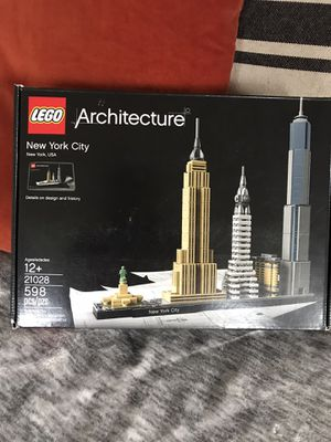 LEGO Architecture 21028 New York City New! for Sale in Seattle, WA