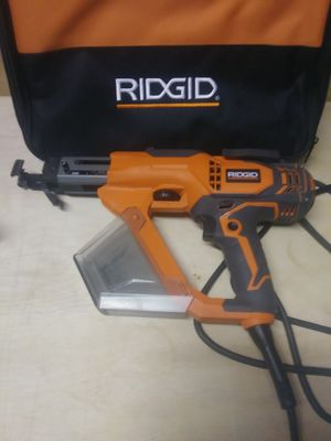 Ridgid collated power cord drywall screwdriver for Sale in West Covina, CA