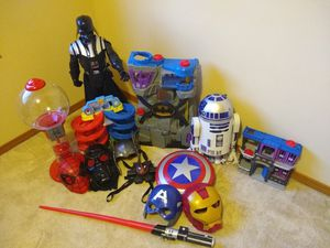 Masks, toys and collectibles for Sale in Port Orchard, WA