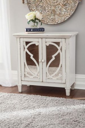 🌲Ashley Mirimyn White Accent Cabinet for Sale in Berwyn Heights, MD