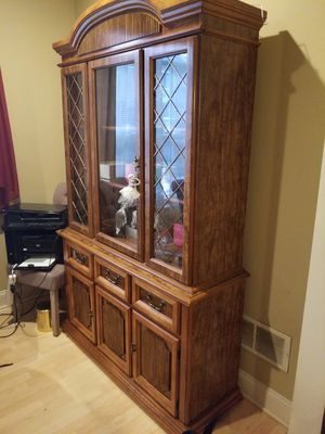 China cabinet, hutch for Sale in Harrisburg, PA