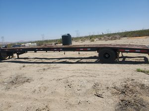Flatbed trailer for Sale in Pearblossom, CA