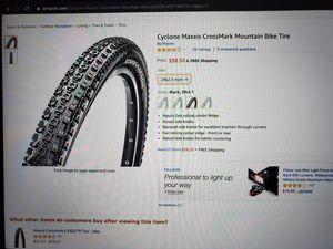 Maxxis CrossMark Mountain Bike Tire MTB 29 x 2.1 for Sale in San Diego, CA