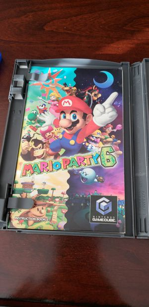 Mario Party 6 Gamecube for Sale in Glendale, AZ