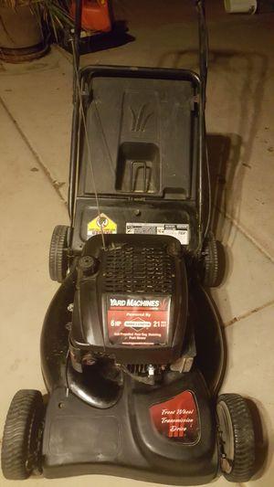 Yardmachine selfpropelled lawnmower lawn mower for Sale in Chandler, AZ