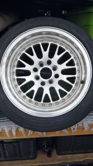 1 only 4x100 rim a tire for Sale in Montclair, CA