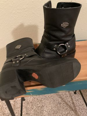 Woman's Harley Davidson Boots Size 8 for Sale in Gig Harbor, WA