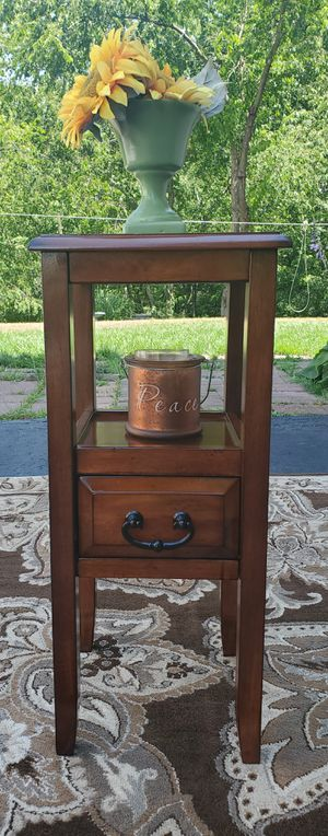An Adorable Pier One Wood Accent Table for Sale in Cranberry Township, PA